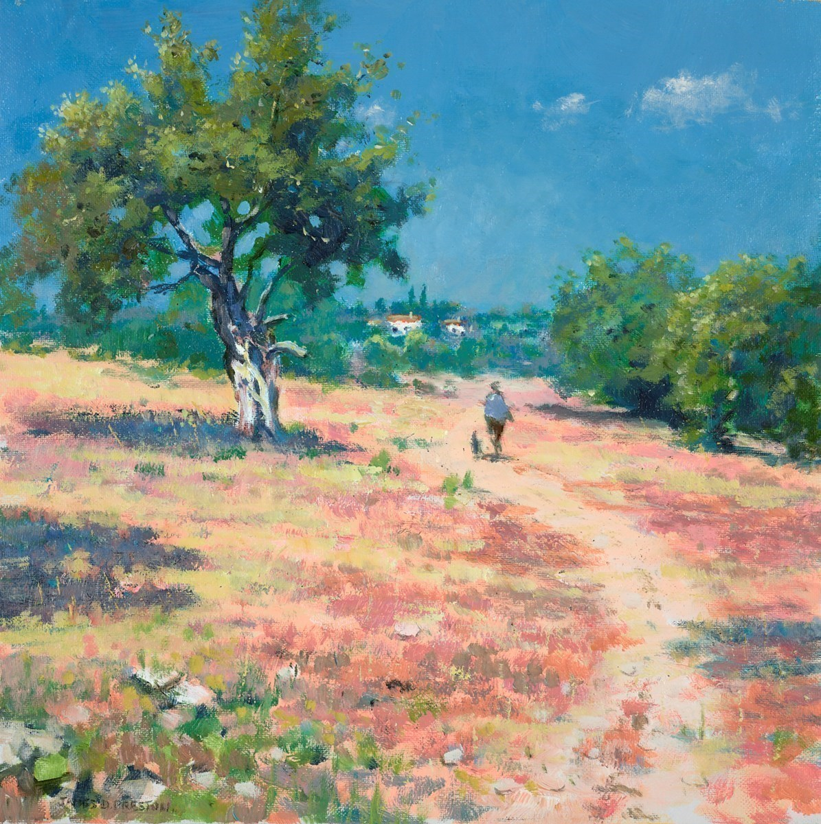 Heat, Portugal by James Preston -  sized 16x16 inches. Available from Whitewall Galleries